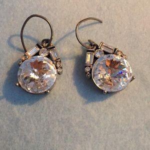 Fossil Art Deco Drop Sparkle Earrings